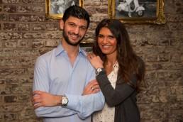 Davide Giglio Geschäftsführer Piccola Essen & Trinken mit seiner Schwester Daniela Giglio.